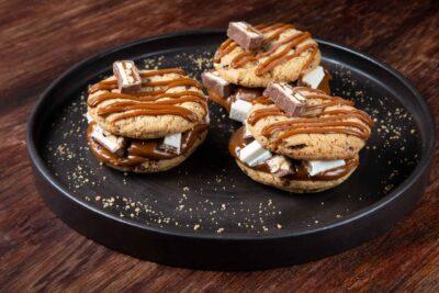 Cookies Burger Dulce de Leche