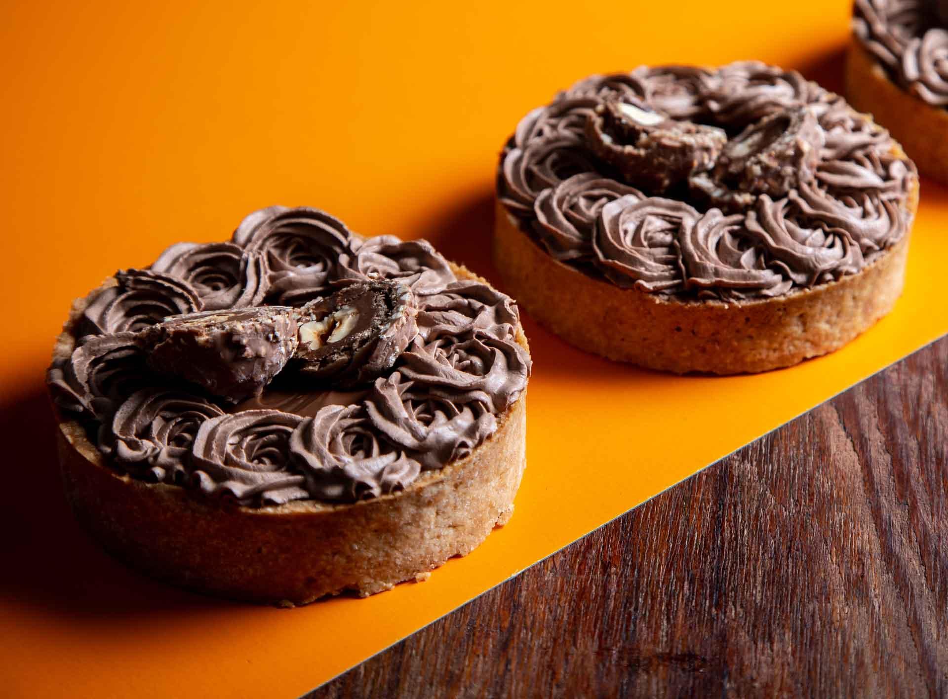 Pie Ferrero Nutella